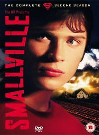 Smallville - Series 2 -  Complete (DVD, 2004, 6-Disc Set, Box Set) USED