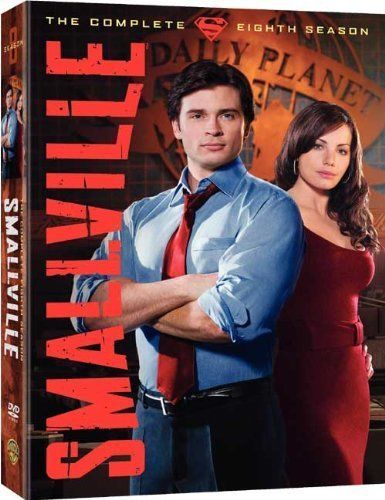 Smallville - Series 8 - Complete (DVD, 2009, 6-Disc Set, Box Set)  USED