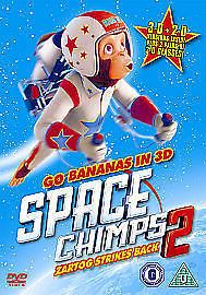 Space Chimps 2 - Zartog Strikes Back (DVD, 2010) -  New & Sealed