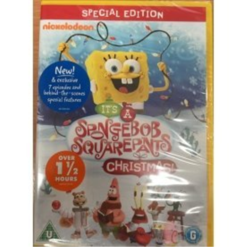 SPONGEBOB SQUAREPANTS - IT'S A SPONGEBOB SQUAREPANTS CHRISTMAS - DVD 2013 (NEW N SEALED