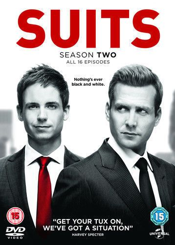 Suits - Series 2 - Complete (DVD, 2013, ) USED
