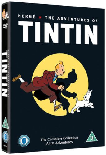 The Adventures of Tintin: Complete Collection  DVD (2011) NEW N SEALED