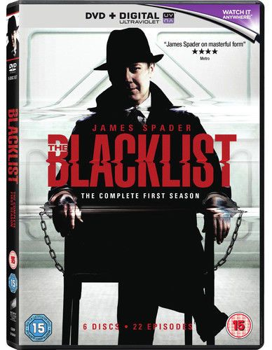 The Blacklist: The Complete First Season DVD (2014) USED