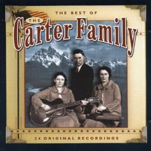 THE CARTER FAMILY - THE BEST OF - 24 ORIGINAL RECORDINGS ( CD 1999) USED