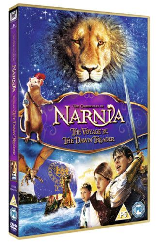 The Chronicles of Narnia: The Voyage  of the Dawn Treader DVD (2011) USED