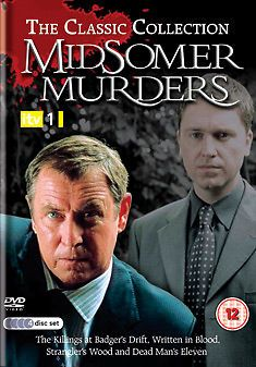 THE CLASSIC COLLECTION - MIDSOMER MURDERS (DVD BOXSET 2007) USED