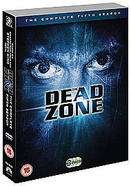 The Dead Zone - Series 5 (DVD, 2009, 3-Disc Set) USED