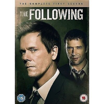 THE FOLLOWING- Series 1 - Complete (DVD, 2013, 4-Disc Set, Box Set) USED