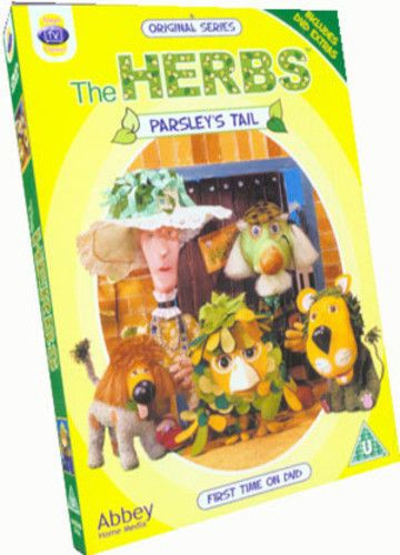 The Herbs: Parsley's Tail DVD (2006)  Michael Bond (NEW N SEALED