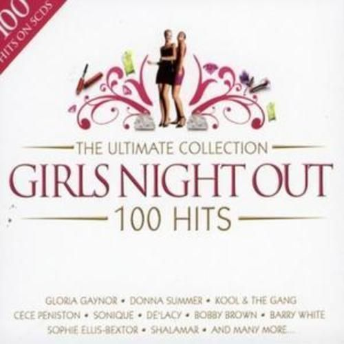 THE ULTIMATE COLLECTION - GIRLS NIGHT OUT - 100 HITS (CD BOXSET 2008) NEW N SEALED