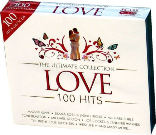 THE ULTIMATE COLLECTION - LOVE - 100 HITS (5 CD BOXSET 2008) NEW N SEALED