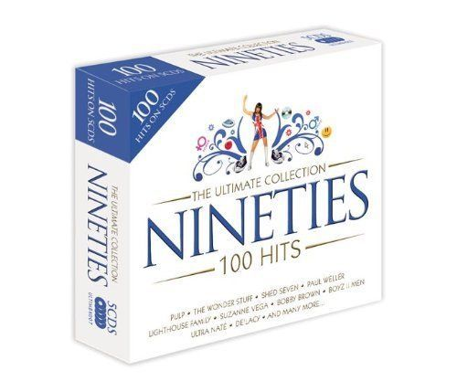 THE ULTIMATE COLLECTION - NINETIES - 100 HITS  ( CD BOXSET 2008)  NEW N SEALED