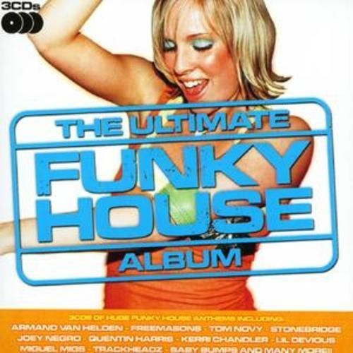The Ultimate Funky House Album  ( CD BOXSET 2008) NEW N SEALED