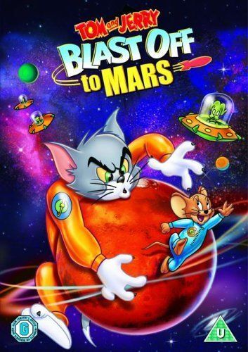 Tom And Jerry: Blast Off To Mars [DVD] [2005] NEW N SEALED
