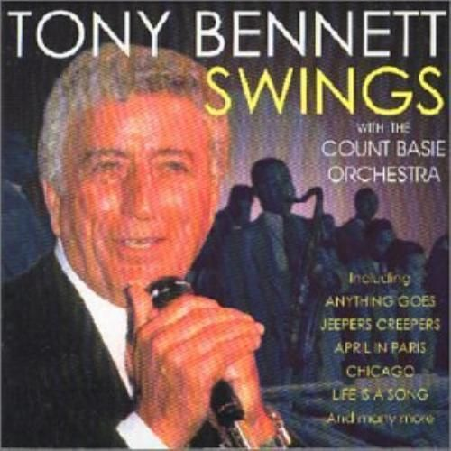 TONY BENNETT - SWINGS WITH THE COUNT BASIE ORCHESTRA (CD 1997) USED