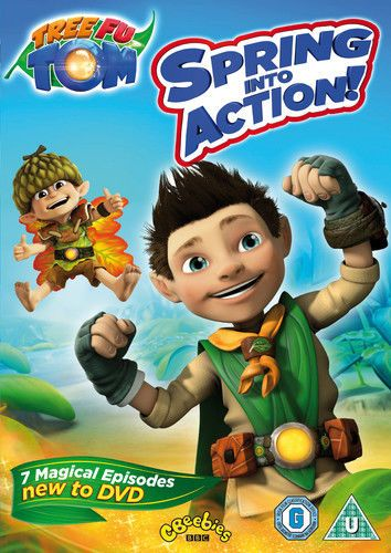 Tree Fu Tom: Spring Into Action DVD (2014) Adam Shaw  (NEW N SEALED
