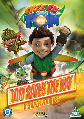 Tree Fu Tom: Tom Saves the Day DVD (2015) NEW N SEALED