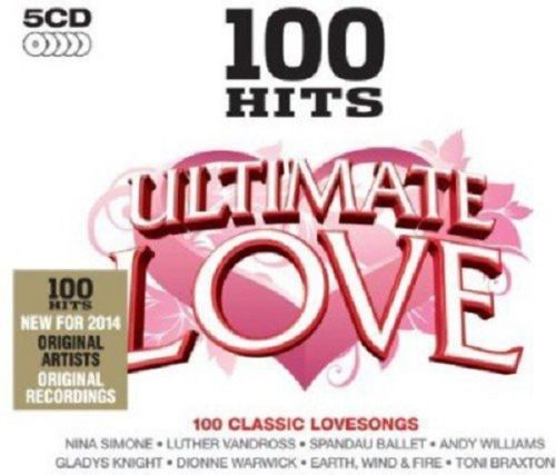 ULTIMATE LOVE - 100 CLASSIC LOVE SONGS  (CD BOXSET 2013) NEW N SEALED