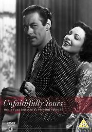 Unfaithfully Yours (DVD, 2004) Rex Harrison. (USED)