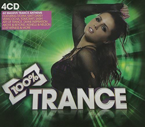 Various Artists - 100% Trance - Various Artists (  CD 2009)  NEW N SEALED