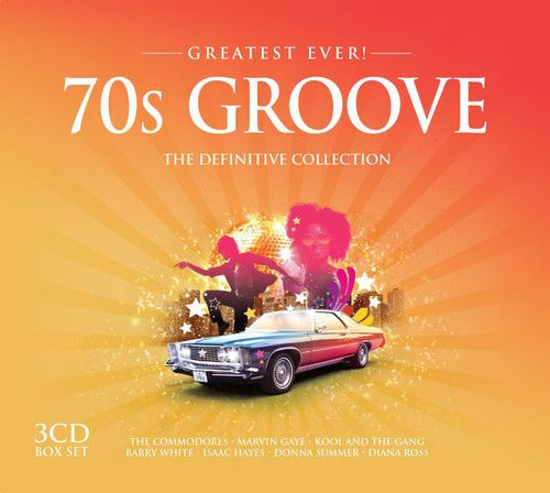 Various Artists : 70s Groove: The Divinitive Collection CD (2015) NEW N SEALED