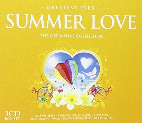 Various Artists : Greatest Ever Summer Love 2009 Box set CD (NEW N SEALED)