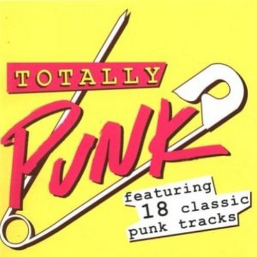 Various Artists : Totally Punk (2003 CD) USED