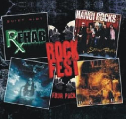 Various - Rockfest Four Pack (CD 2009) NEW N SEALED