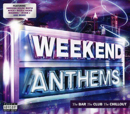 Various ‎– Weekend Anthems: The Bar The Club The Chillout (3 DISC BOXSET 2012) USED