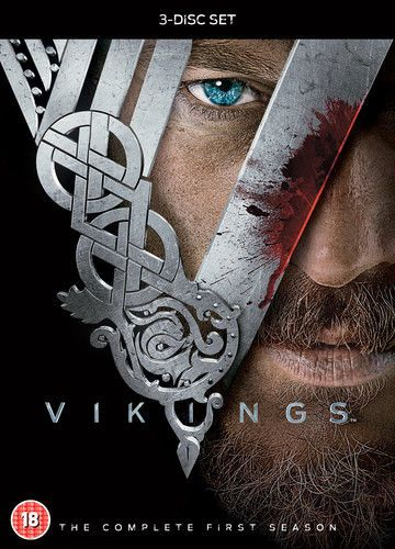Vikings: The Complete First Season DVD (2014) USED